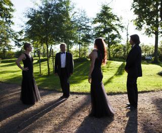 Wulfson Quartet spelar mingelmusik