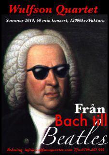 Wulfson Quartet från Bach till Beatles