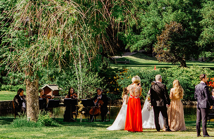 Wulfson Quartet stråkkvartetten till ert bröllop